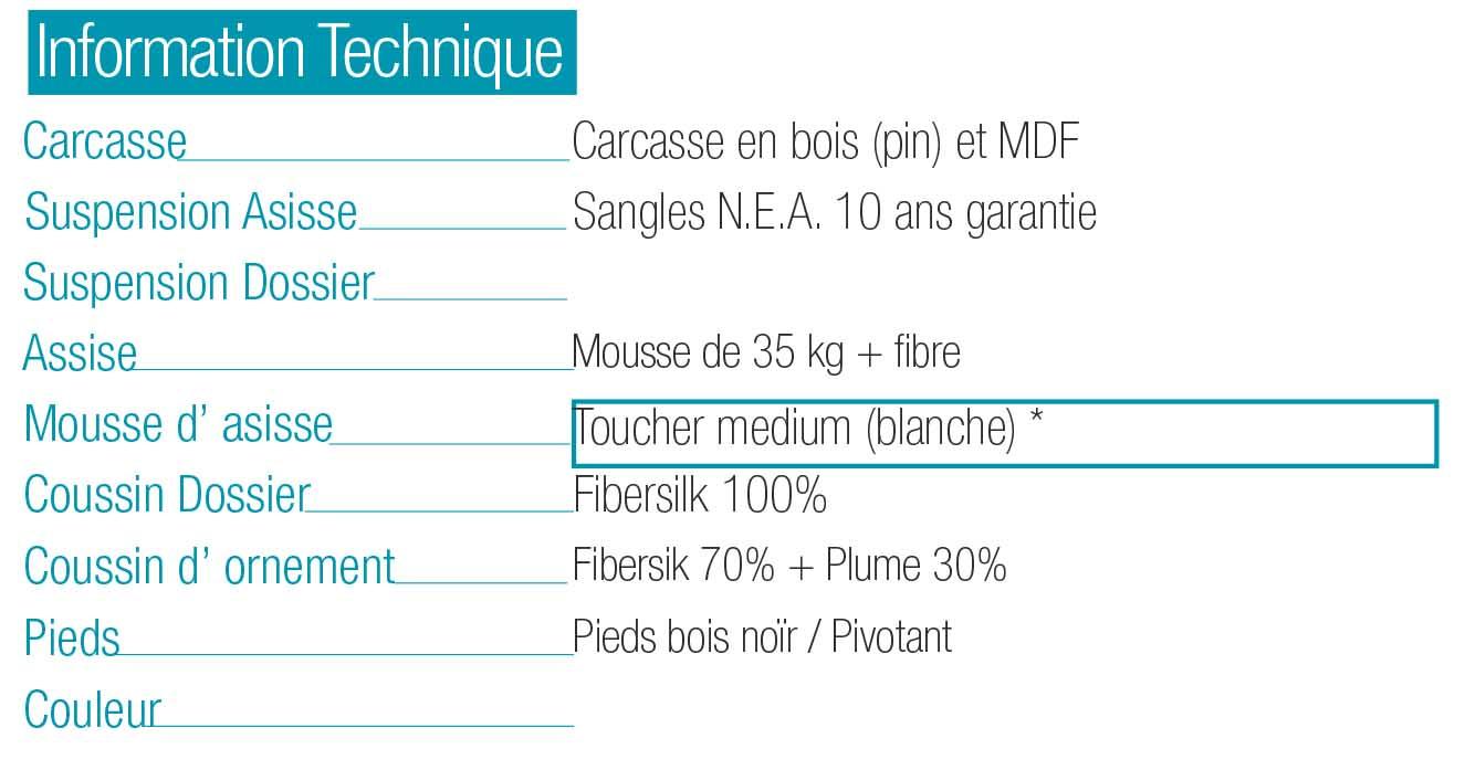 Canapé MyCuore Fama Sofas magasin Lyon Marseille marque fama